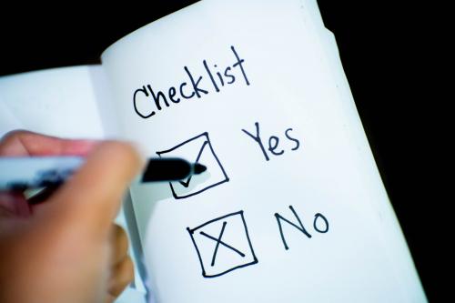 LMS requirements checklist
