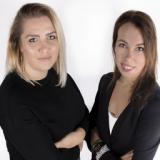Tessa Wakelkamp (left) and Manouk van Veen (right), Team Educational Center at Epplejeck Horse & Rider Superstore