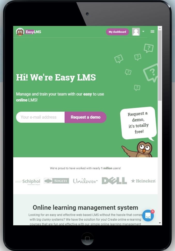 Mobile Learning Management System Easy Lms