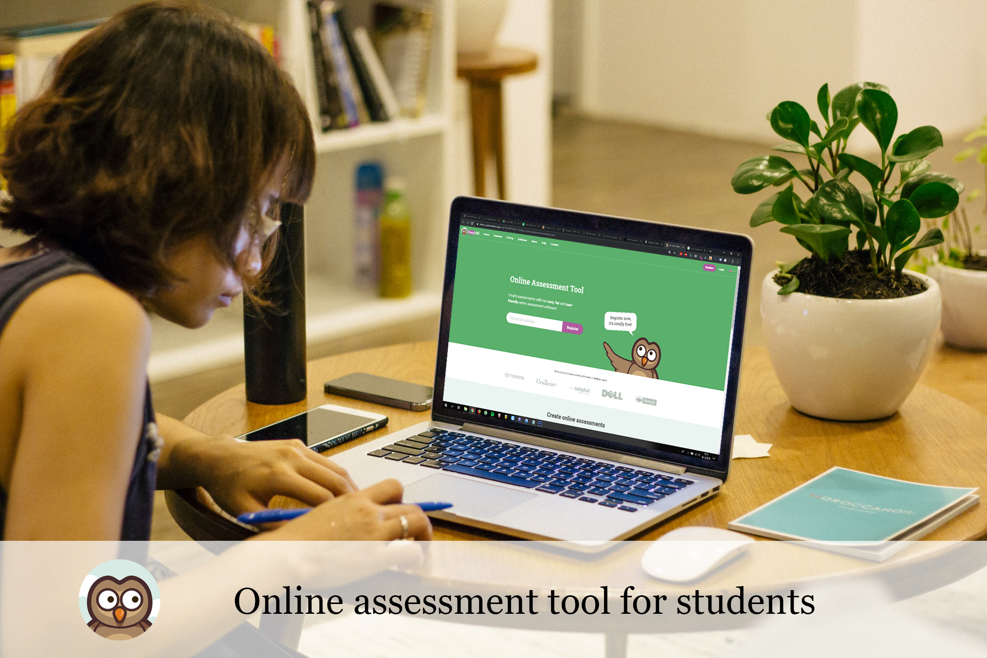 Online assessment tool for students