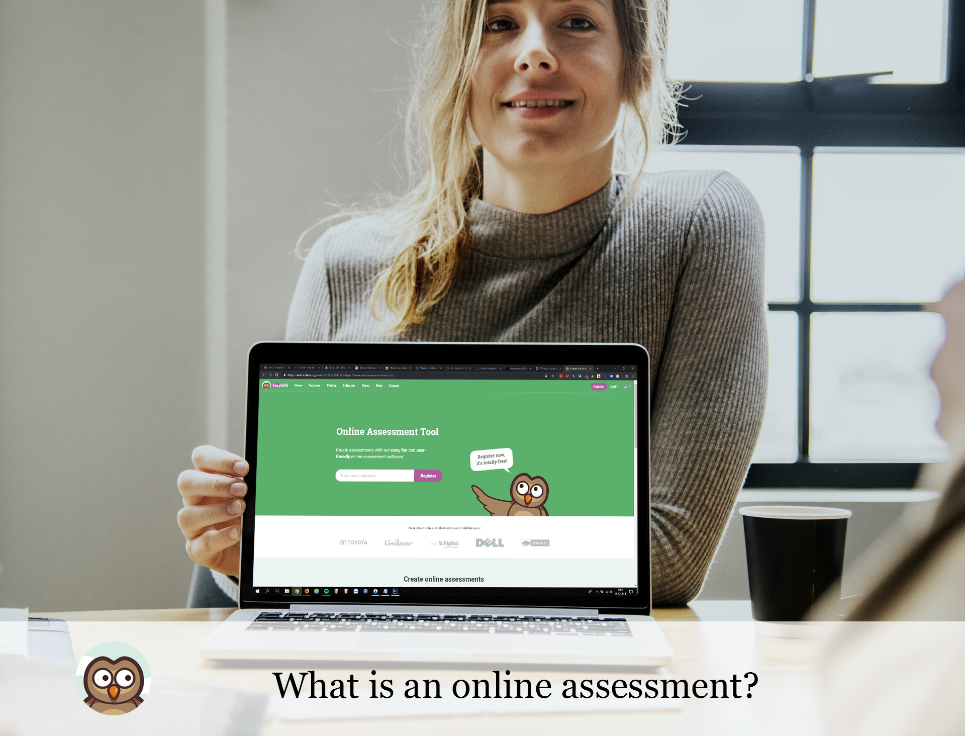 What is an online assessment?